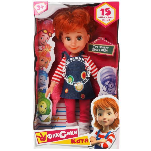 Кукла озвученная ФИКСИКИ Катя, 32 см, озвученная, 15 песен и фраз,