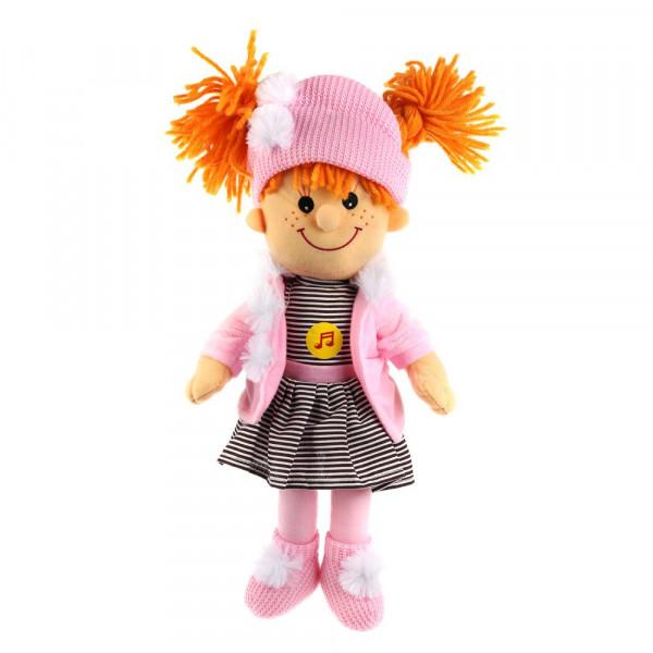 Игрушка мягкая Барто А. кукла 35 см озвуч. 4 стиха и песн