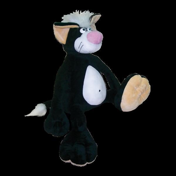 Кот Джокер (серый), 56 см