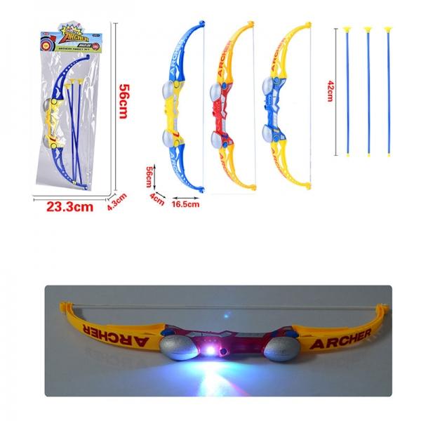 Набор оружия (лук+аксесс.) со светом