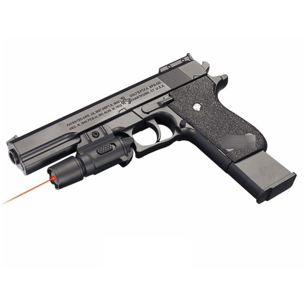 Пистолет (п) с лазер. прицелом, с пульками