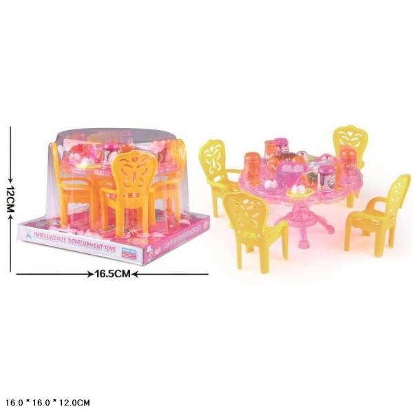Мебель для кукол, с аксесс.