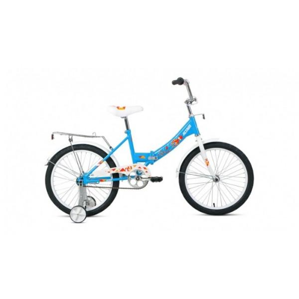 """Велосипед ALTAIR CITY KIDS 20 Compact (20"""" 1 ск. рост 13"""" скл.), голубой"""