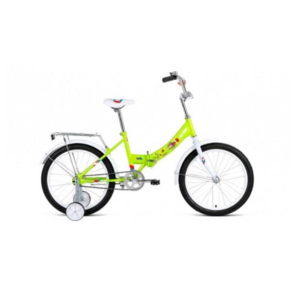 """Велосипед ALTAIR CITY KIDS 20 Compact (20"""" 1 ск. рост 13"""" скл.), зеленый"""