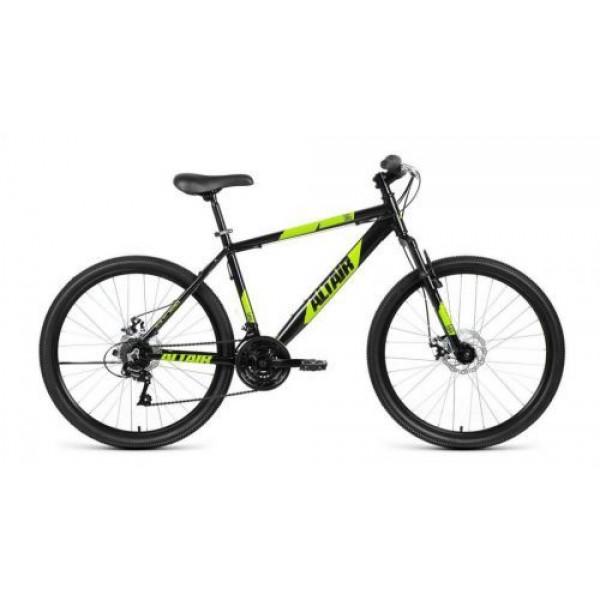 """Велосипед AL 26 D (26"""" 21 ск. рост 17""""), черный/зеленый"""
