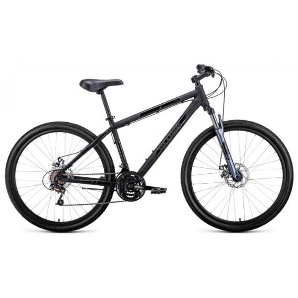 """Велосипед AL 27,5 D (27,5"""" 21 ск. рост 19""""), черный/серебристый"""