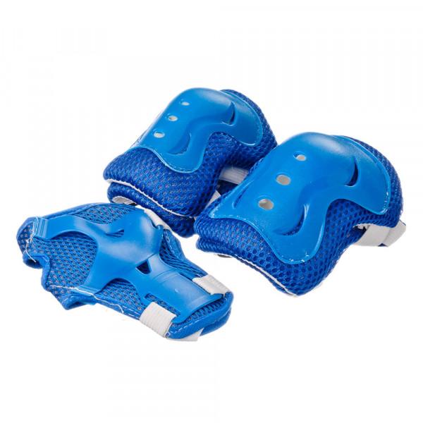 SILAPRO Набор защиты однотонный (колени, локти, запястья), размер M, пластик