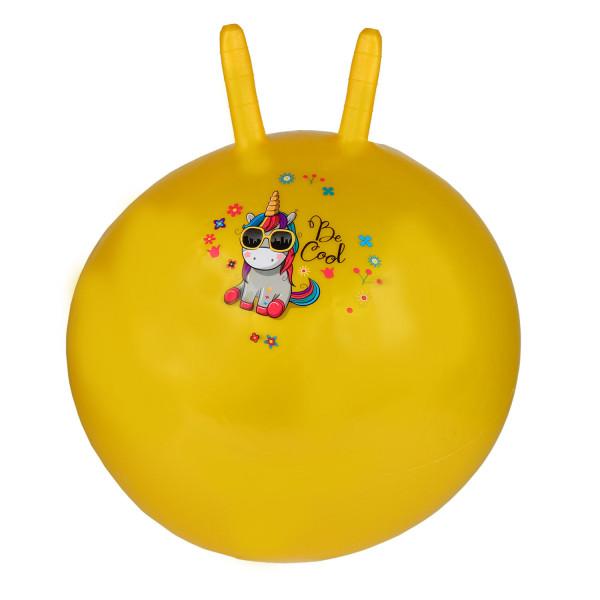 Мяч-попрыгунчик, 45CM с рожками